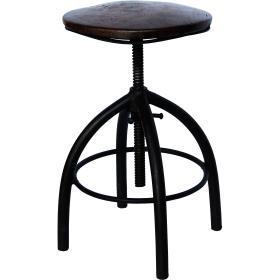 Otočná stolička - tmavá