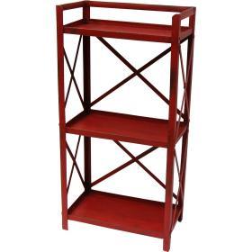 Red iron rack