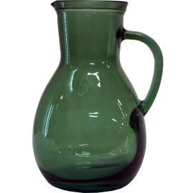 Sklenený džbán Isador - zelený