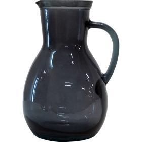 Sklenený džbán Isador - sivý