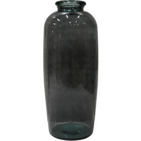 Sklenená váza - šedá