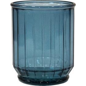 Uhlová váza - nebesky modrá