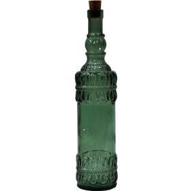 Sklenená fľaša Hailey - zelená