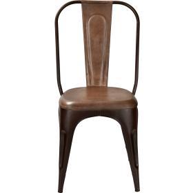 Stolička - hrdzavá patina