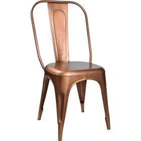 Industrálna  stolička - meď