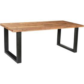 Drevený jedálenský stôl s...