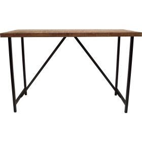 Drevený barový stôl s...