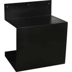 Jednoduchá kovová polička