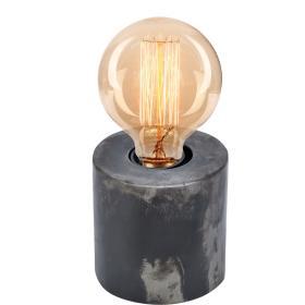 Malá okrúhla stolová lampa