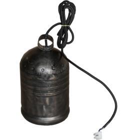 Zvoncová závesná lampa