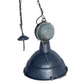 Veľká priemyselná lampa - šedá