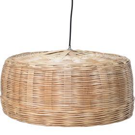 Závesná lampa z prírodného...
