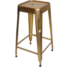 Kodaň vysoká stolička - mosadz