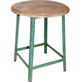 Stolička s dreveným sedadlom