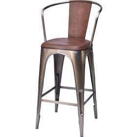 Industrálna  barová stolička