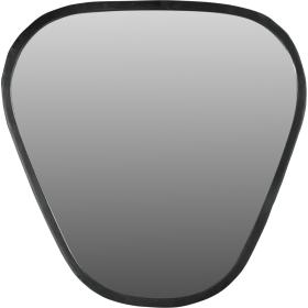 Zrkadlo - čierny kovový rám