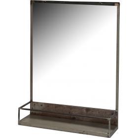 Zrkadlo na stenu zo železa...