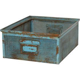 Kovový úložný box