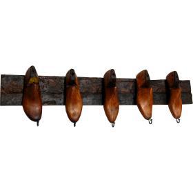 Vintage vešiak - 5 háčikov