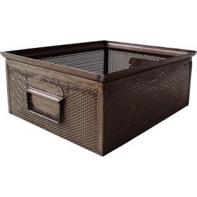 Kovový box - prírodna patina