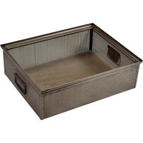 Kovová krabica - prírodná...
