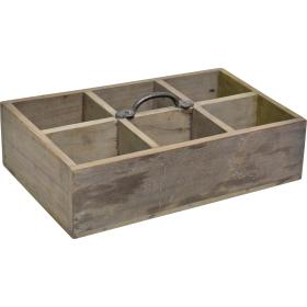 Drevená prenosná krabica
