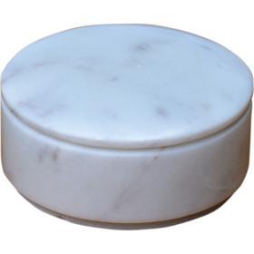 Mramorová krabica - biela