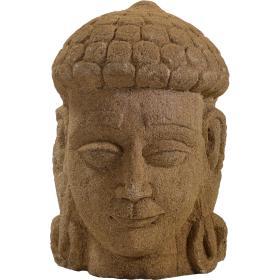 Kamenná hlava Budhu