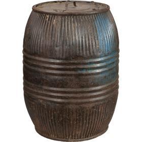 Starý železný sud - mix farieb
