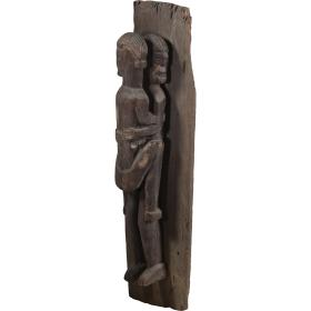 Drevená socha - Láska