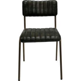 Diner stolička s koženým...