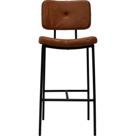 Barová stolička s čalúneným...