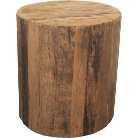 Surový  príručný stolček