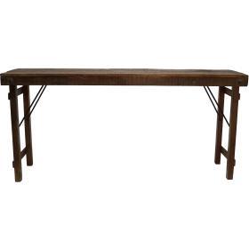 Starý konzolový stolík z Indie