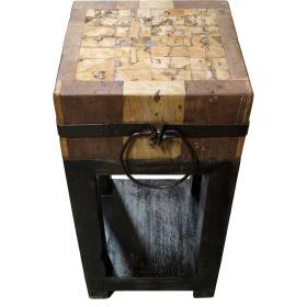 Drevený sekací stôl