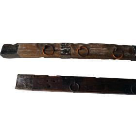 Staré drevené panely s...