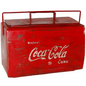 Vintage chladnička na Coca...