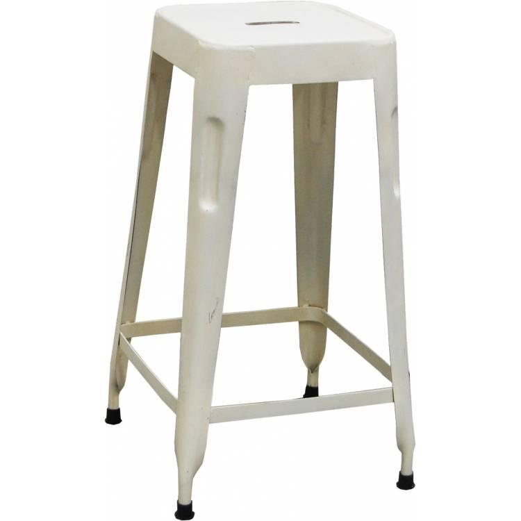 Vysoká stolička - biela