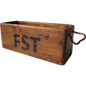 Vintage krabica z dreva
