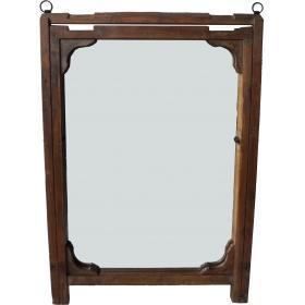 Zrkadlo s vintage dreveným...