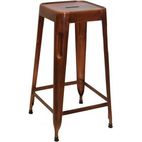 High stool - copper