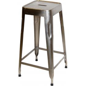 High stool - shiny