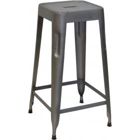 High stool - zinc-coated