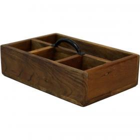 Drevená krabička s...