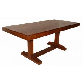 Beautiful wooden dining table