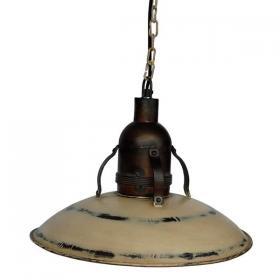 Závesná patinovaná lampa