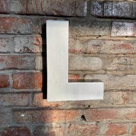 Kovové písmeno - L