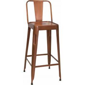 Medená barová stolička