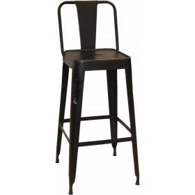 Barová stolička - medená