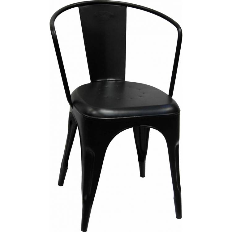 Garden chair with powder coating